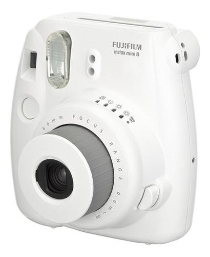 Imagen 1 de 5 de Camara Instantanea Fujifilm Intax Mini 8 Blanco -las Piedras
