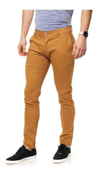 Pack X2 Pantalón Chupin Gabardina Elastizada Varios Colores!