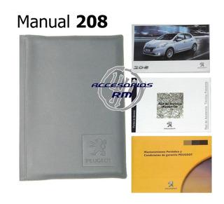 Manual Del Usuario Peugeot 208 Con Carpeta Original