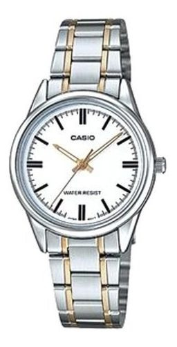 Reloj Casio Mujer Plateado Ltp-v005sg-7audf