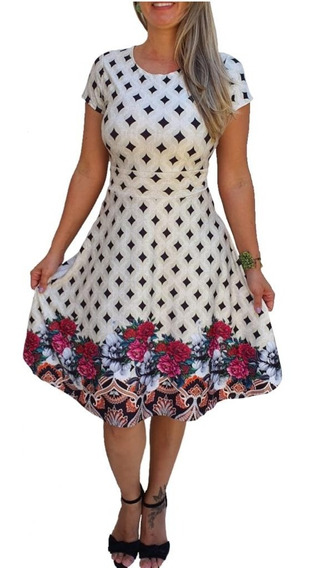 Vestido Boneca Princesa Feminino Evangélico Gode Midi