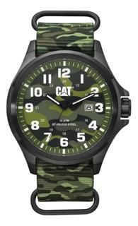 Reloj Caterpillar Hombre Sumergible Operator Camo 10 Atm