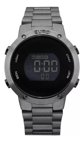 Relógio Euro Feminino Digital Cronógrafo Eubj3279ae/4k