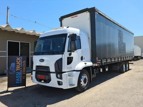Ford Cargo 2429 6x2 Plataforma Guincho Sider Ano 2015 Leito