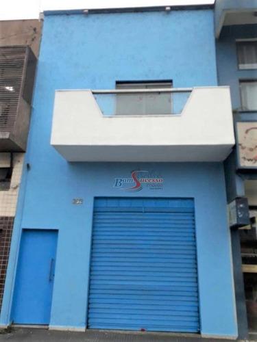 Prédio, 192 M² - Venda Por R$ 900.000,00 Ou Aluguel Por R$ 3.000,00/mês - Centro - Santo André/sp - Pr0100