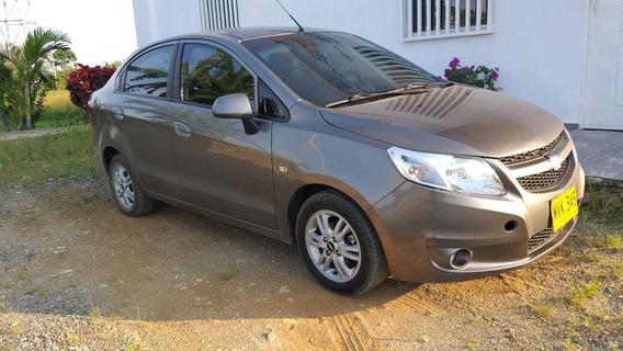 Chevrolet Sail Ltz Motor 1.4 Cc 2014 Gris Ocaso 5 Puertas