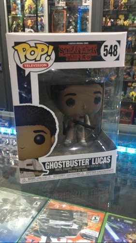 Funko Pop! Ghostbuster Lucas #548