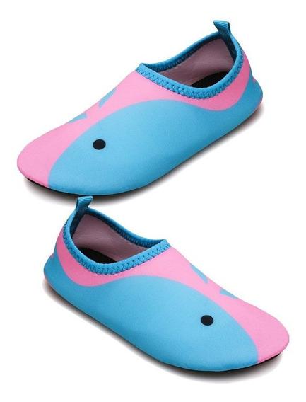 Sandália De Praia Infantil De Natação Rápida Sapatos De Água