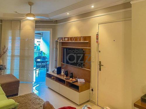 Apartamento Com 2 Dormitórios À Venda, 72 M² Por R$ 392.000,00 - Jardim Proença - Campinas/sp - Ap4955