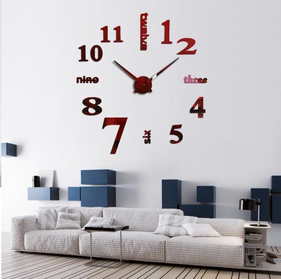 Relógio De Parede Relevo