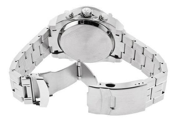 Reloj 96b175 Bulova Precisionist Time Square Plateado 46mm