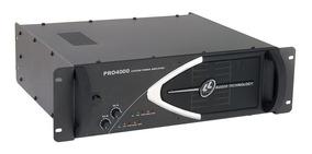 Amplificador De Potência 1000w Rms 127v Pro4000 Ll Áudio