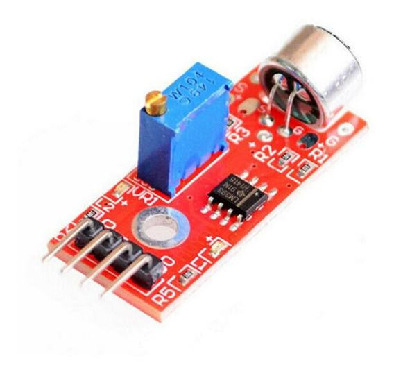 Módulo Sensor De Som Sensor De Palmas Microfone - Arduino