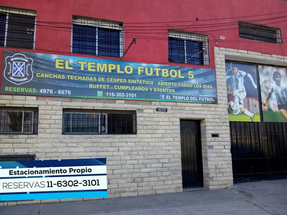Fondo De Comercio Canchas De Futbol Techadas