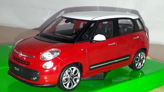 Fiat 500 L - 2013 Rojo - Welly 1/24. ( Ramos Mejia)