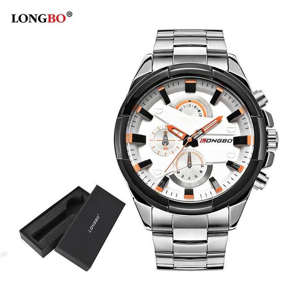 Relógio Masculino De Luxo - Longbo Quartz