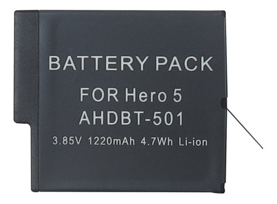 Bateria Gopro Hero8 7 6 5 Black - 3.85v 1220mah - Ahdbt-501