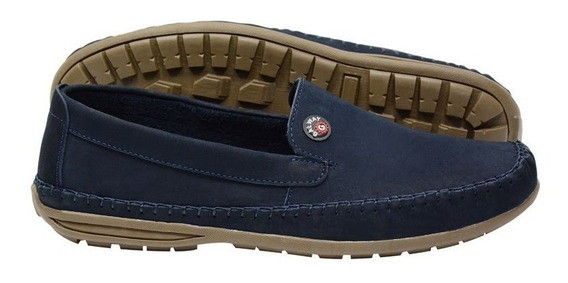Sapato Masculino Mocassim Dockside Couro Galway 760-3 Prom.