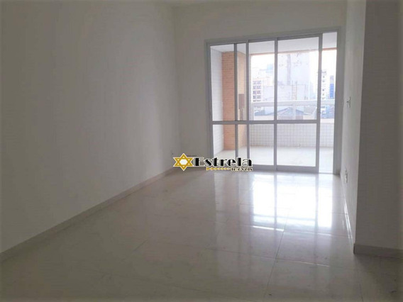 Apartamento Com 2 Dormitórios À Venda, 99 M² Por R$ 511.000 - Centro - São Vicente/sp - Ap10940