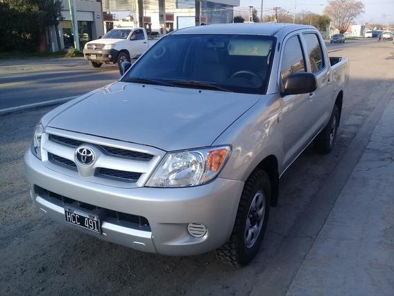 Toyota Hilux 4x4.d/c.2.5.dx.pack.2008 (2009)