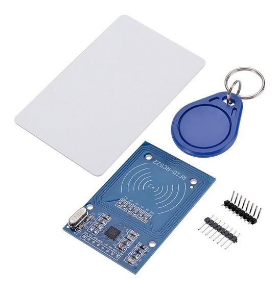 Módulo Leitor Rfid Rc522 + Cartão + Tag 13.56mhz Arduino