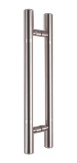 Jaladera Tipo H Para Puerta Principal 90 Cm