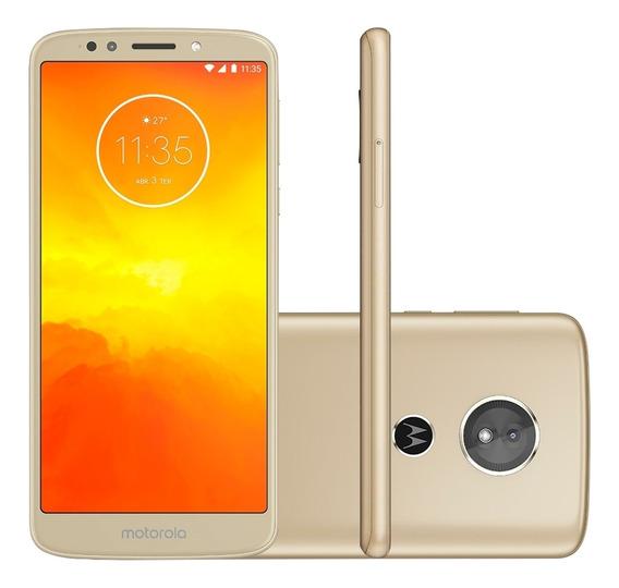 Smartphone Motorola Moto E5 32gb, Tela 5.7, Câmera 13 - Ouro