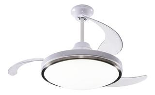 Ventilador De Techo Peabody Retractil Luz Led Control Remoto
