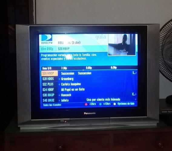 Tv Panasonic De 27 Pantalla Plana