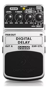Pedal Digital Delay Behringer Dd600 O Joyo Jf-08 + Garantía