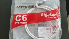 Patch Cord Cat6 Giga Premium Lszh Branco 1,5m Furukawa #639
