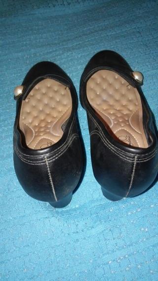 Zapatos Tipo Mocasines Con Taco