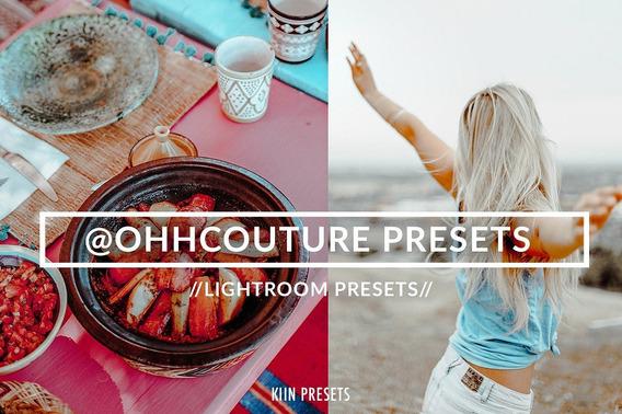 Presets Blogger @ohhcouture Inspired - P/lightroom Desktop