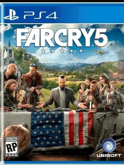 Far Cry 5 Ps4 Jogo Dublado Midia Física Playstation 4