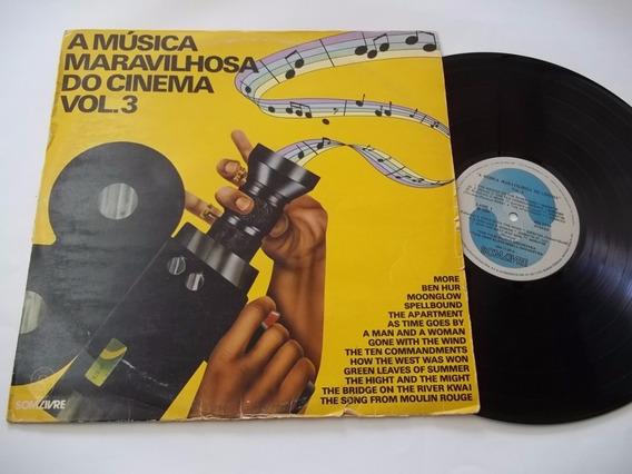 Lp Vinil - A Musica Maravilhosa Do Cinema Vol 3 - Coletanea