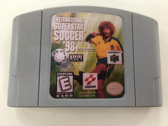 International Superstar Soccer 98 Nintendo 64 Original