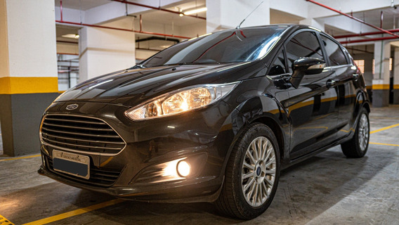 Ford Fiesta Titanium 1.6 Powershift 5 Portas