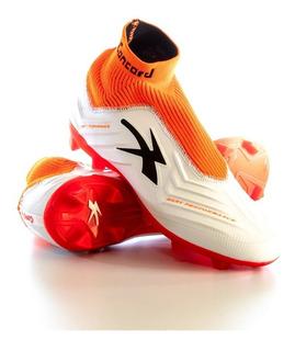 Zapato Futbol Concord Mod S178gj Naranja - Golero Sport