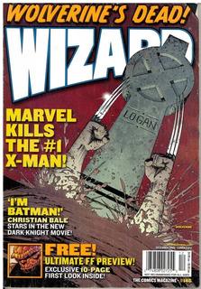 Revista Wizard No. 146 Diciembre 2003 Wolverine