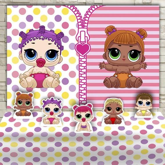 Kit Decoraçã Boneca Lol Baby Pronta Entrega