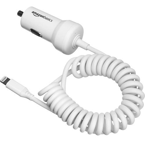 Cargador De Auto - Amazon 12w - Con Cable Lightning iPhone