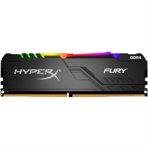 Memoria Ram 8gb Hyperx Fury Rgb Gamer Ultra Rendimiento Nnet