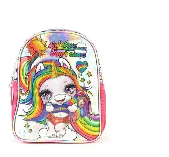 Mochila Espalda Poopsie Rainbow 12 Pulga Jardin Playking