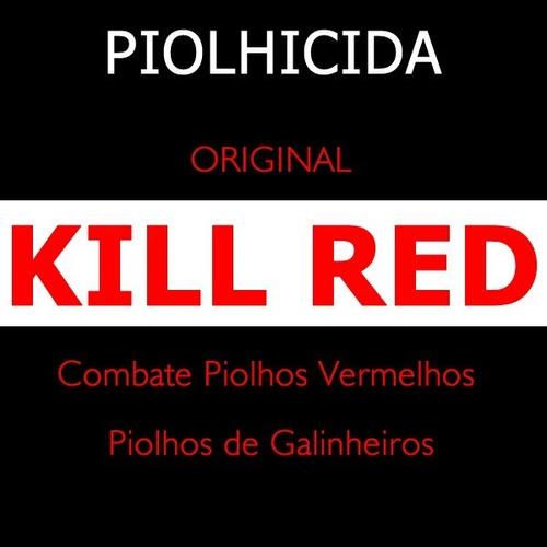 Imagem 1 de 1 de Piolhicida Kill Red 16 Gramas Original