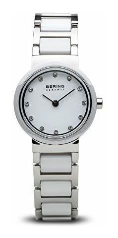 Bering Time | Reloj Delgado Para Mujer 10725-754 | Caja De 2