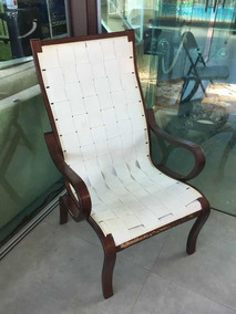 Cadeira Poltrona Tapeçaria Tecido Bege