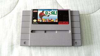 Goal! Cartucho Para Super Nintendo Snes 1992 Jaleco
