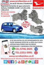 Reparación De Bomba De Agua Automotriz Daihatsu Charade 1.0