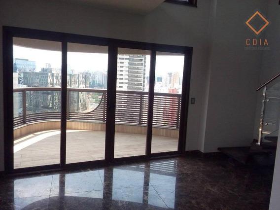 Cobertura Com 1 Dormitório À Venda, 98 M² Por R$ 2.980.000,00 - Vila Olímpia - São Paulo/sp - Co1266