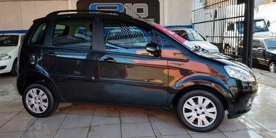 Fiat Idea Attractive 1.4 Cinza 2013